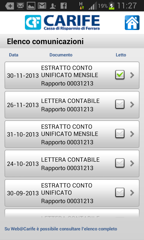 Mobile@Carife 2.4.1 Screen 4