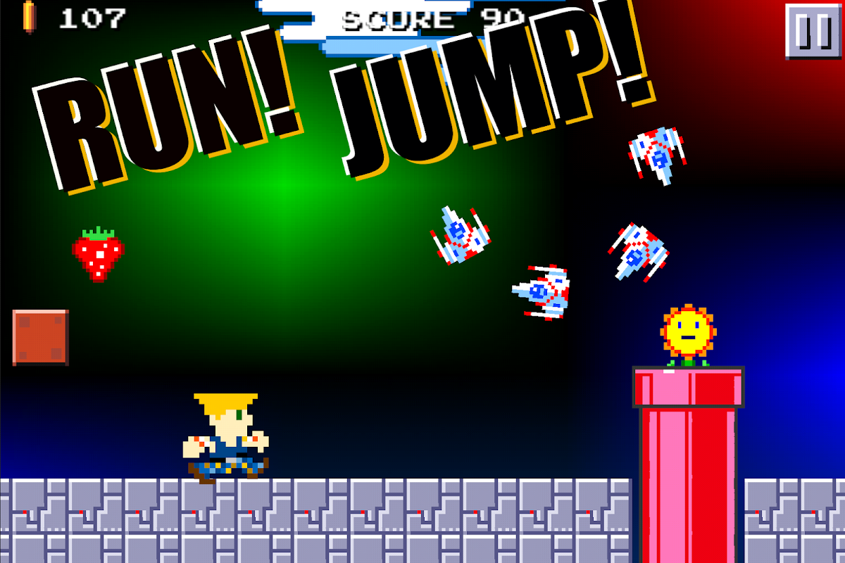 Super Mega Runners : Stage maker Create your game 16.2 Screen 2