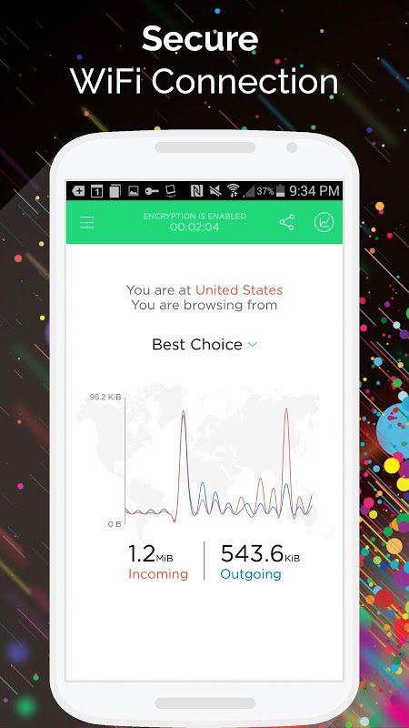 Android Best VPN - Free Unlimited VPN Screen 2