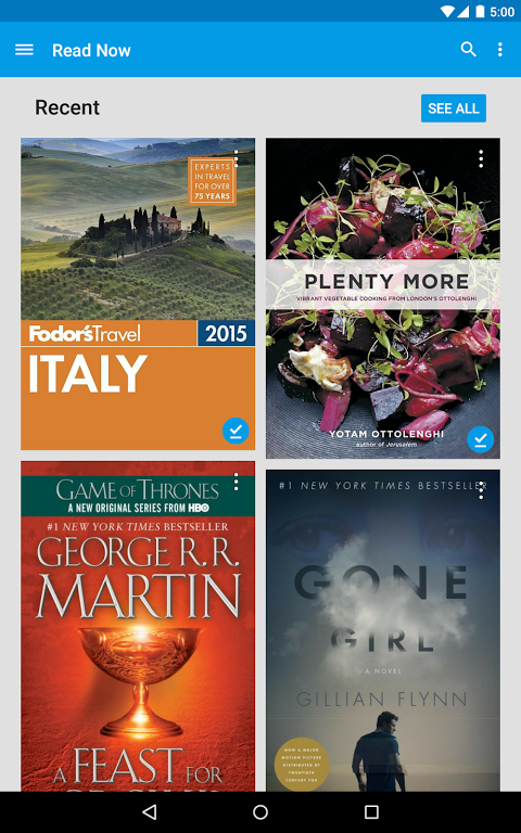 Android Google Play Books Screen 12