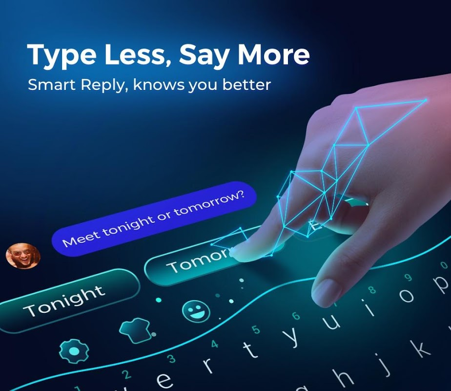 Cheetah Keyboard -  Emoji & Stickers Keyboard 4.36.0 Screen 2