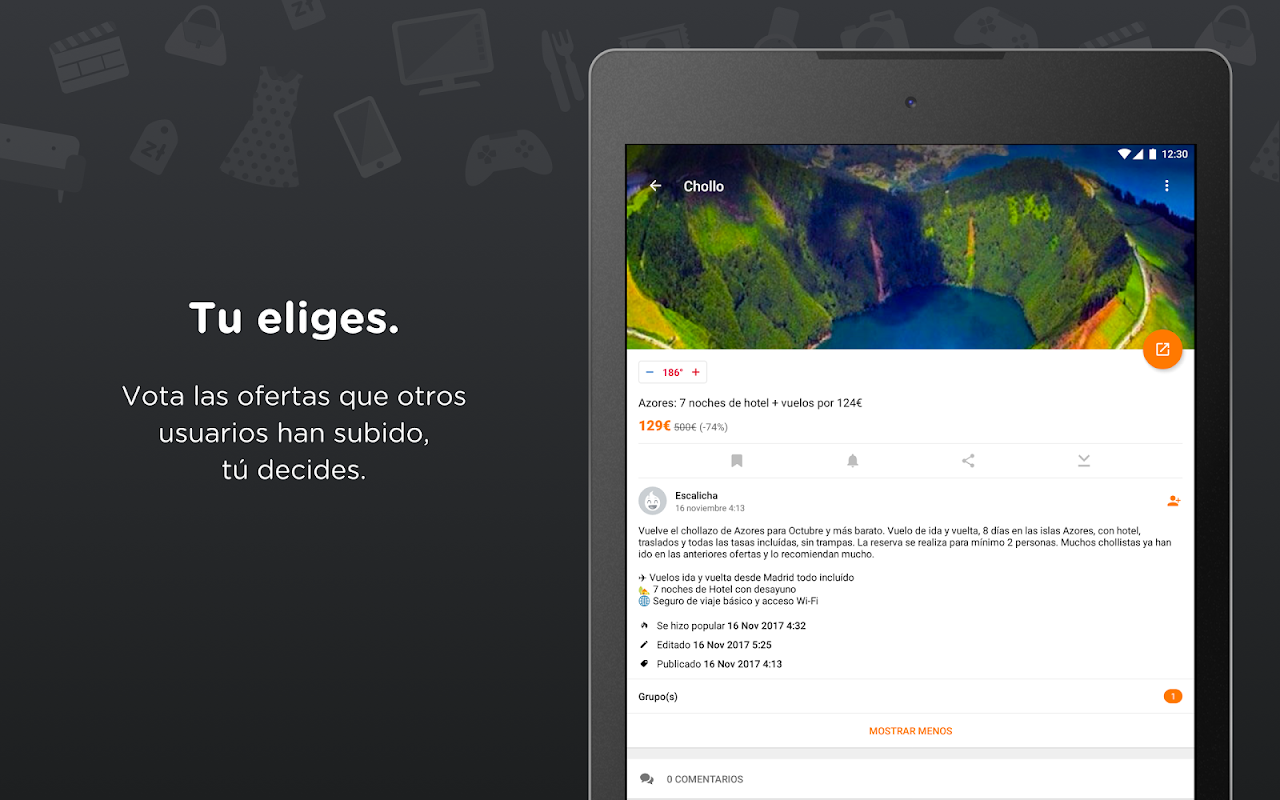Chollometro – Chollos, ofertas y juegos gratis 5.7.07 Screen 7