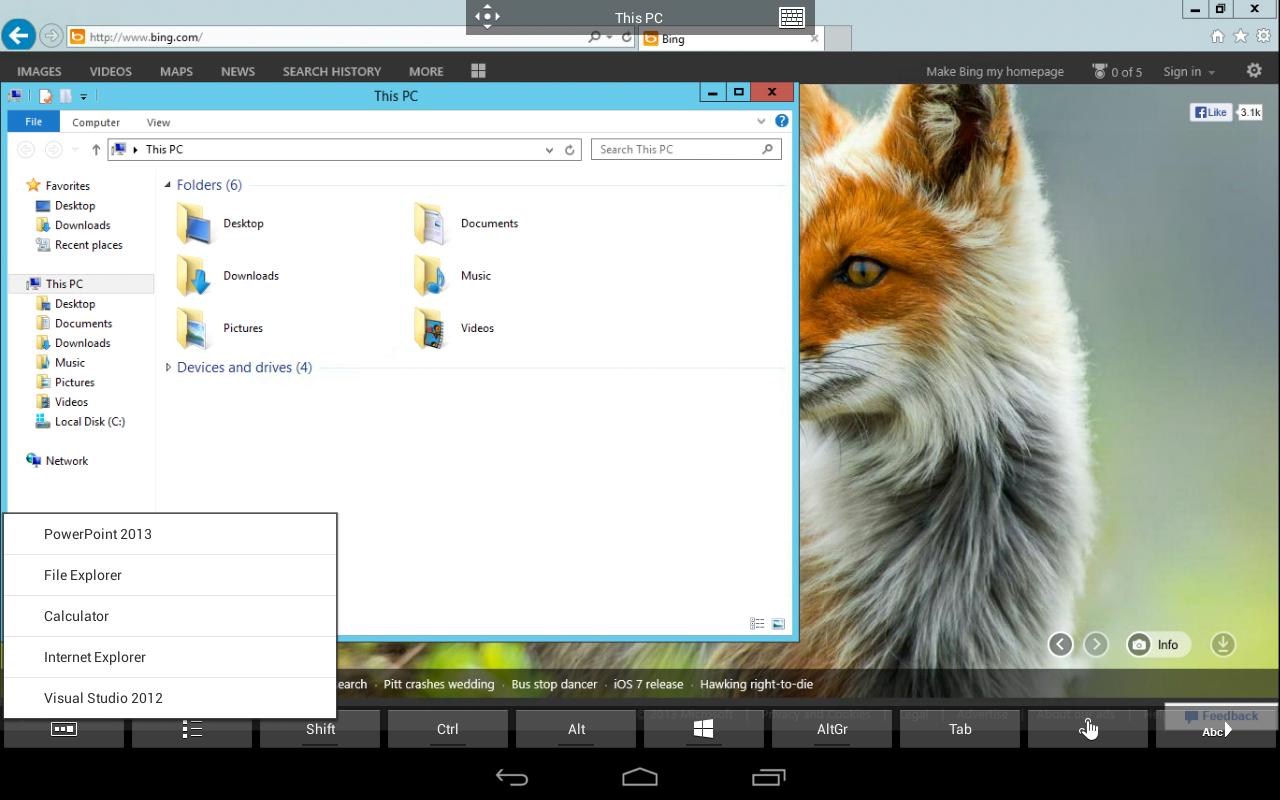 Microsoft Remote Desktop 8.0.5.24406 Screen 5