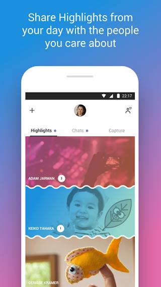 Android Skype - free IM & video calls Screen 4
