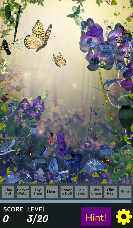 Android Hidden Object - May Flowers Screen 4