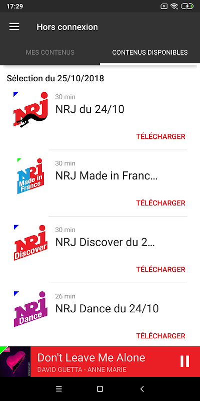 NRJ Radios 4.5.1 Screen 5