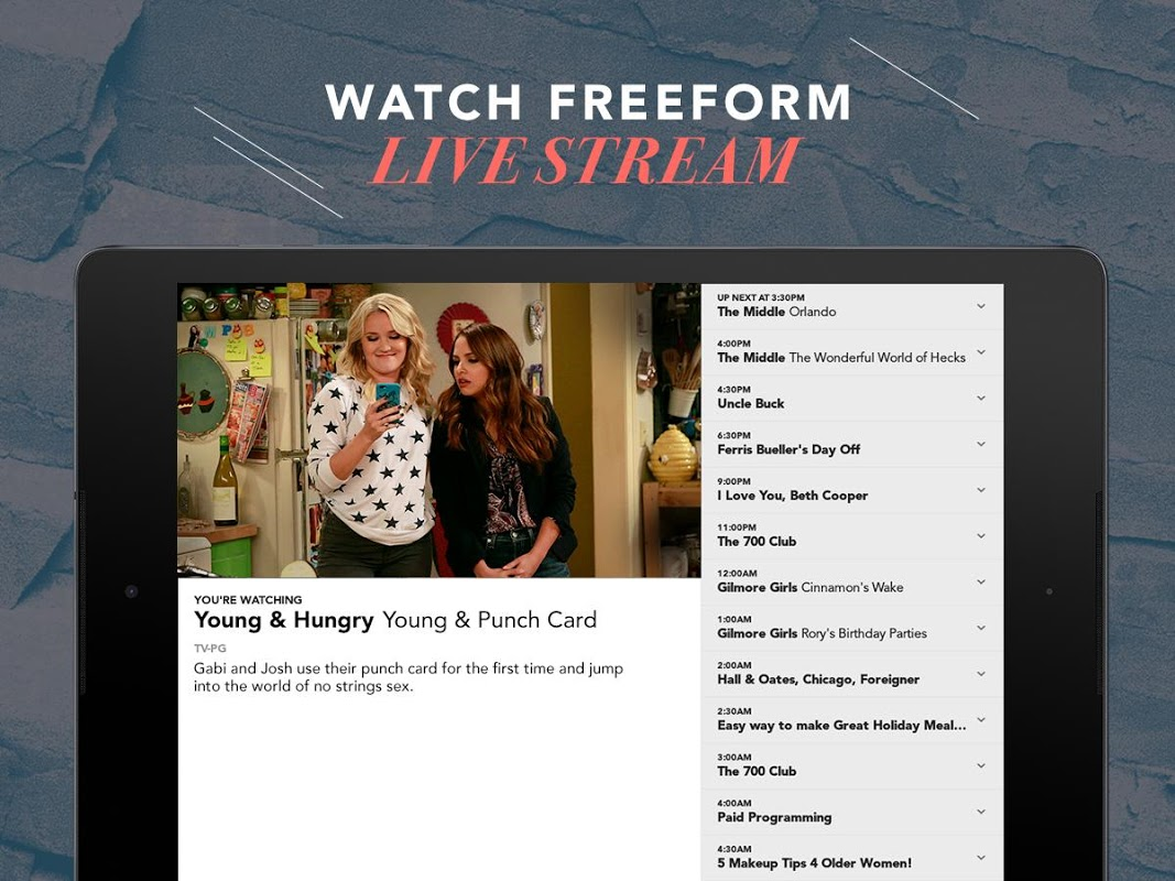 Android Freeform – TV & Full Episodes Screen 9