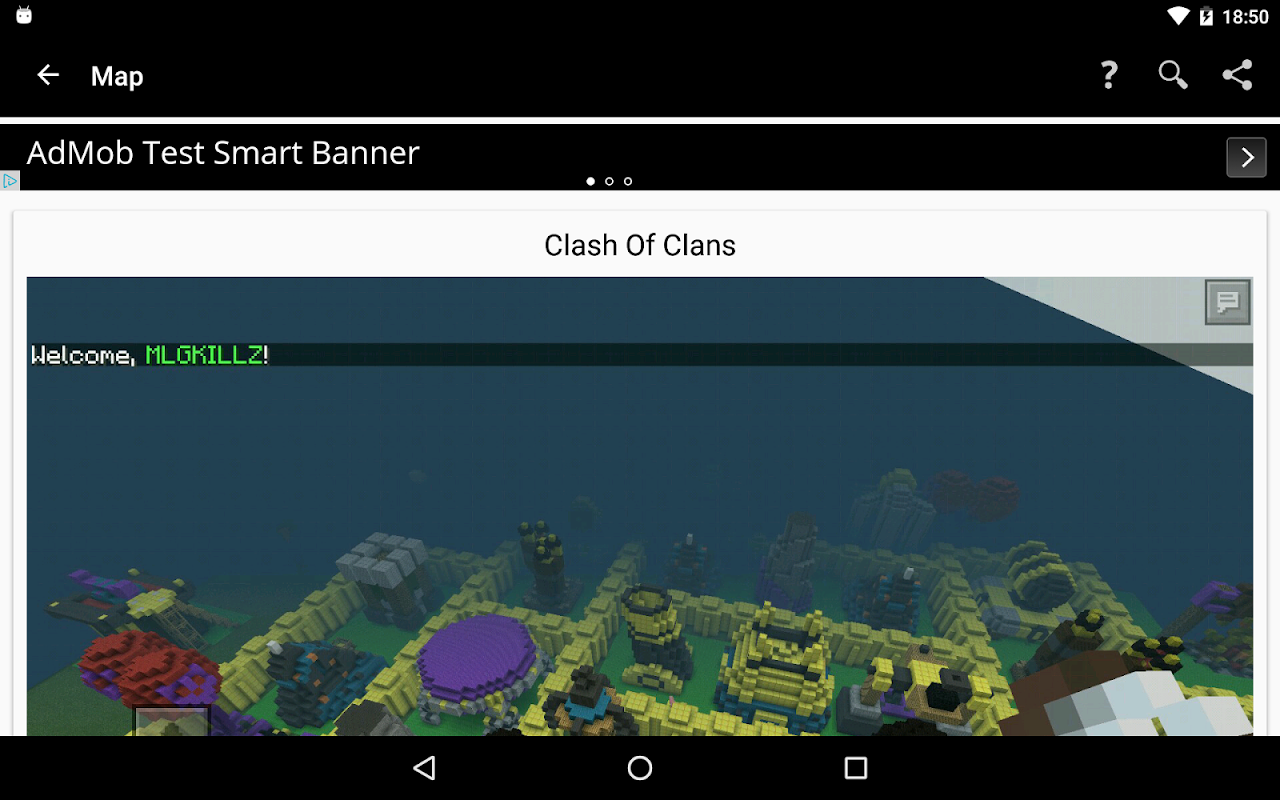 Android Maps for Minecraft PE Screen 9