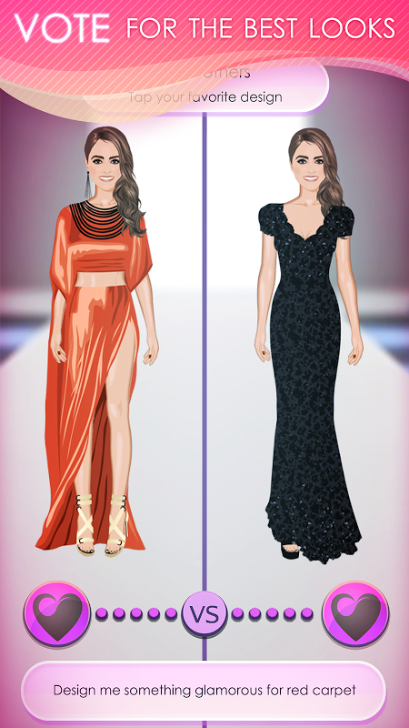 Android World of Fashion - Dress Up Screen 3