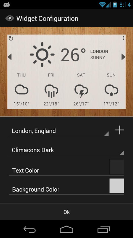 Android Eye In Sky Weather Screen 6