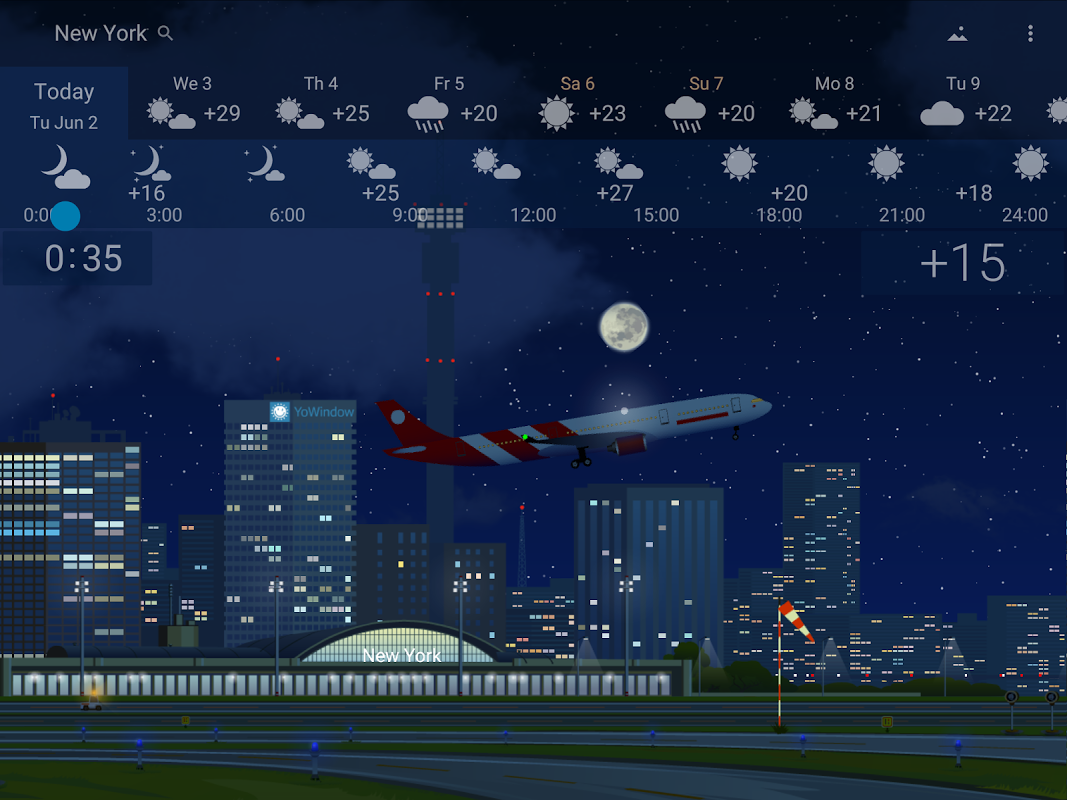 Precise Weather YoWindow 1.33.17 Screen 8