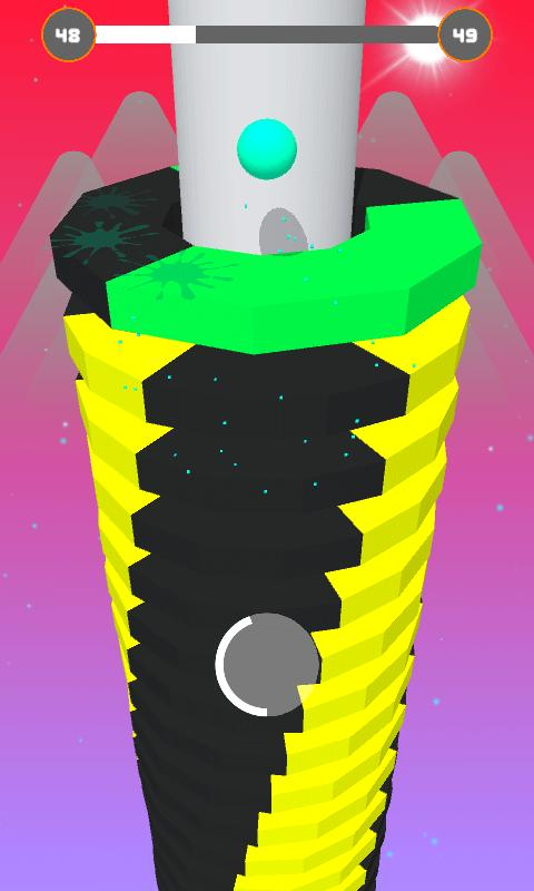 Android Stack Ball - Blast 3D Screen 4