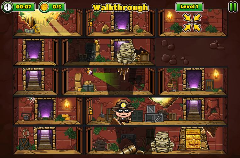 Bob The Robber 5: Temple Adventure by Kizi games 1.0.0 Screen 1