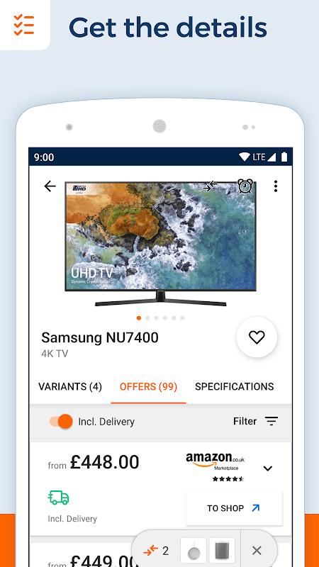 idealo - Price Comparison & Mobile Shopping App 10.3.7 Screen 3