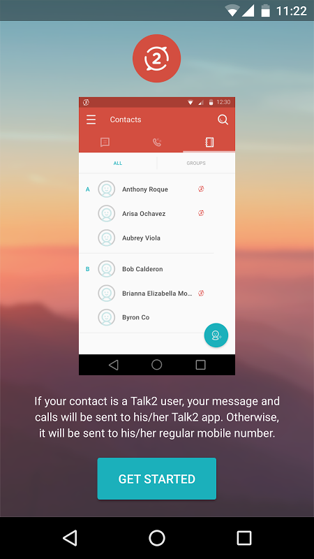 Talk2 3.3.5-release Screen 1