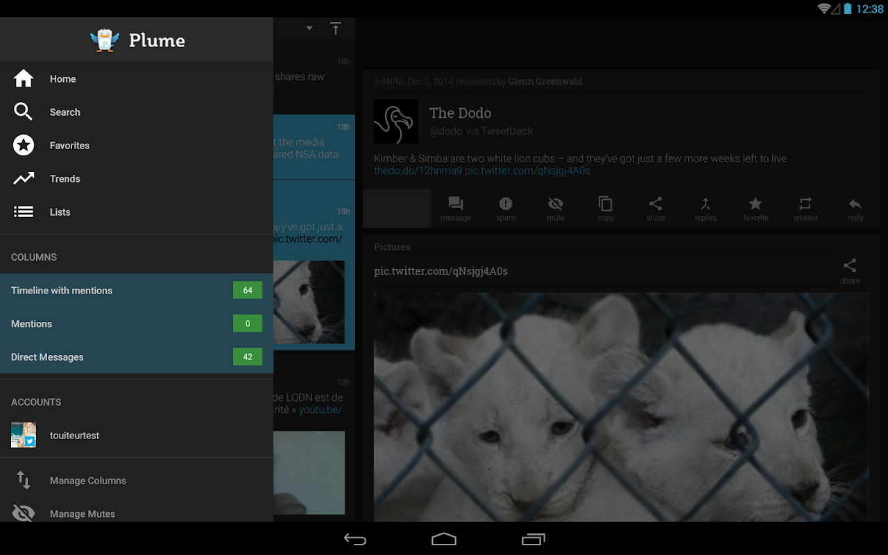 Plume for Twitter 6.29.0 Screen 9