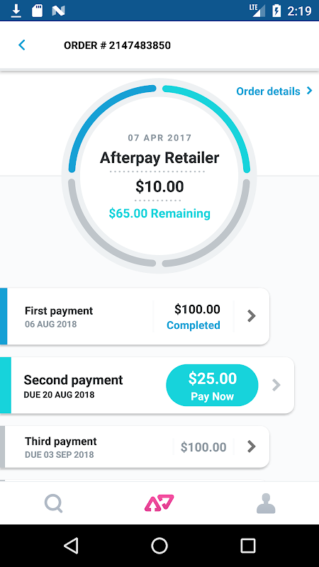 Afterpay - Shop Now, Pay Later APKs | Android APK