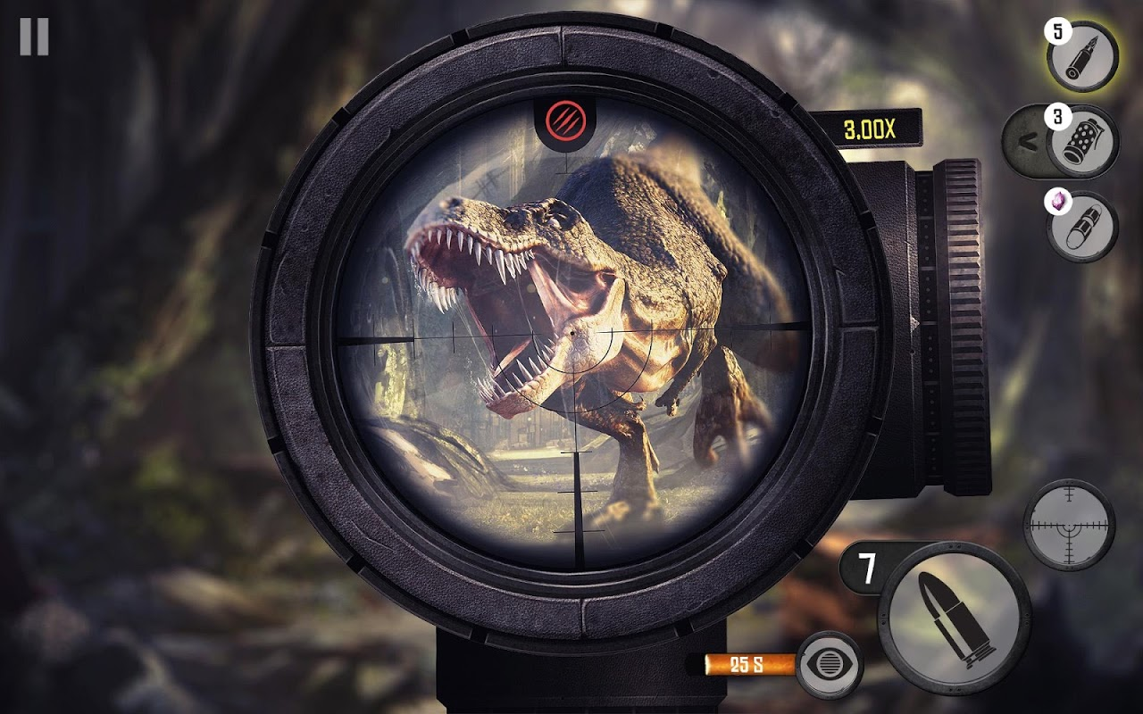 Android Best Sniper Legacy: Dino Hunt & Shooter 3D Screen 8