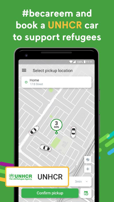 Android Careem - Car Booking App Screen 7
