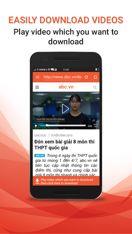 Android Download Video Free Screen 1