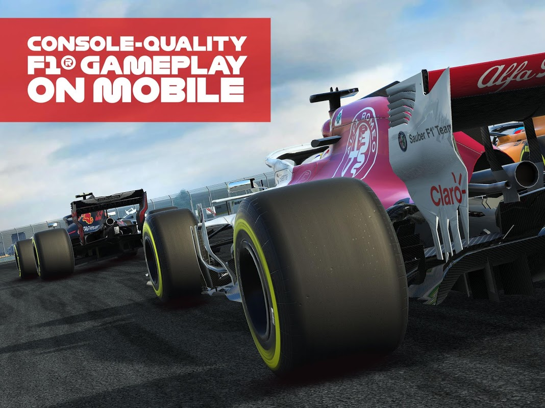 Android F1 Mobile Racing Screen 8
