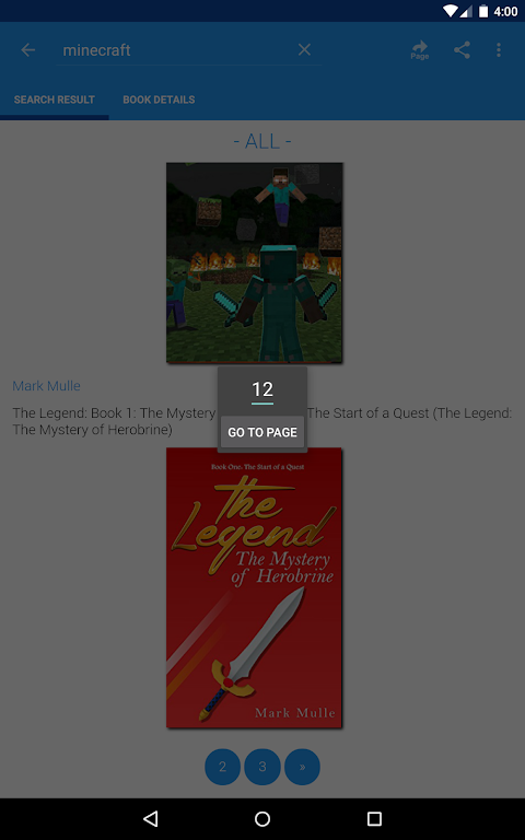 Android Free eBooks for Kindle Screen 15