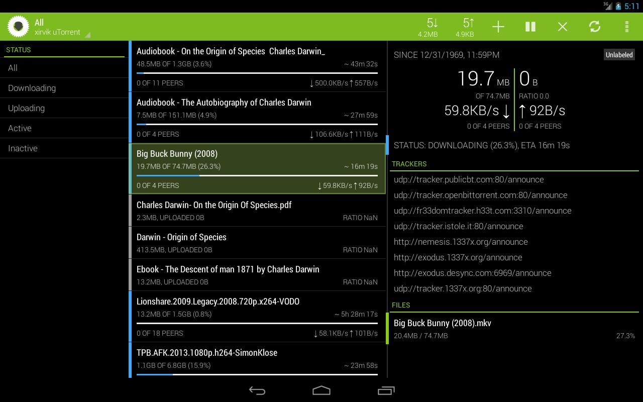 Transdrone 2.5.14 Screen 2