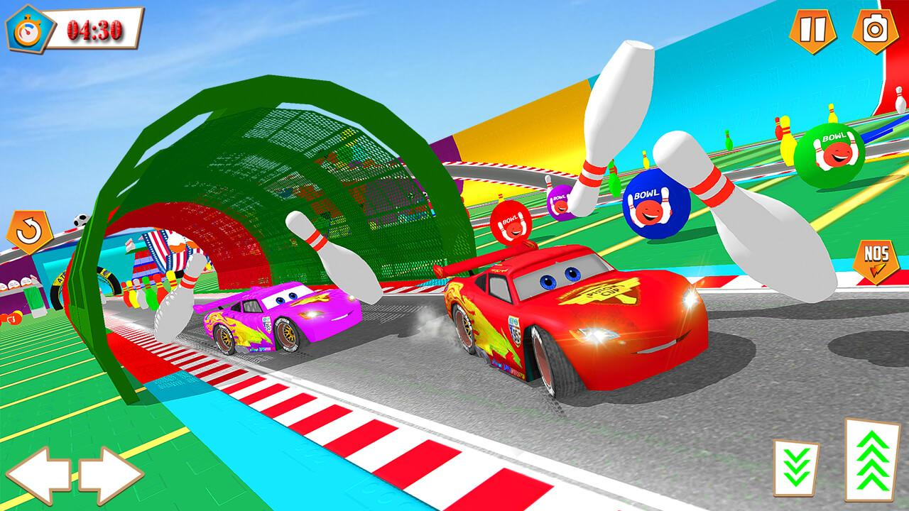 Android Superhero Racing Car driving Stunts Screen 4