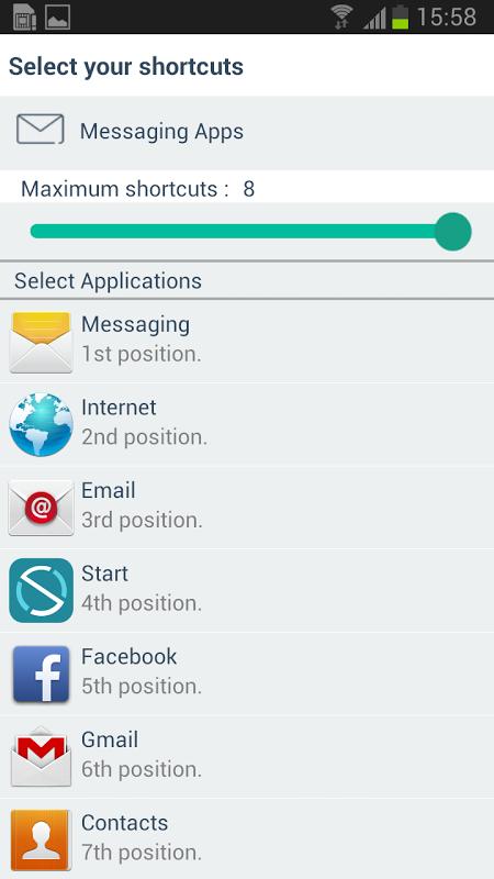 Vodafone Start 1.1 Screen 1