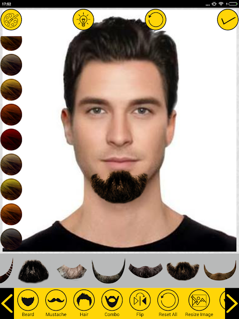 Add Hair Beard Mustache Styles 1.7 Screen 9