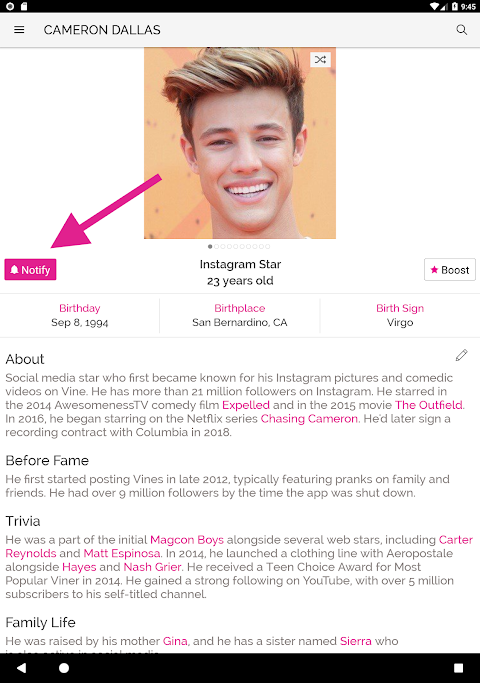 Famous Birthdays 8 4 9 APK Download by Famous Birthdays