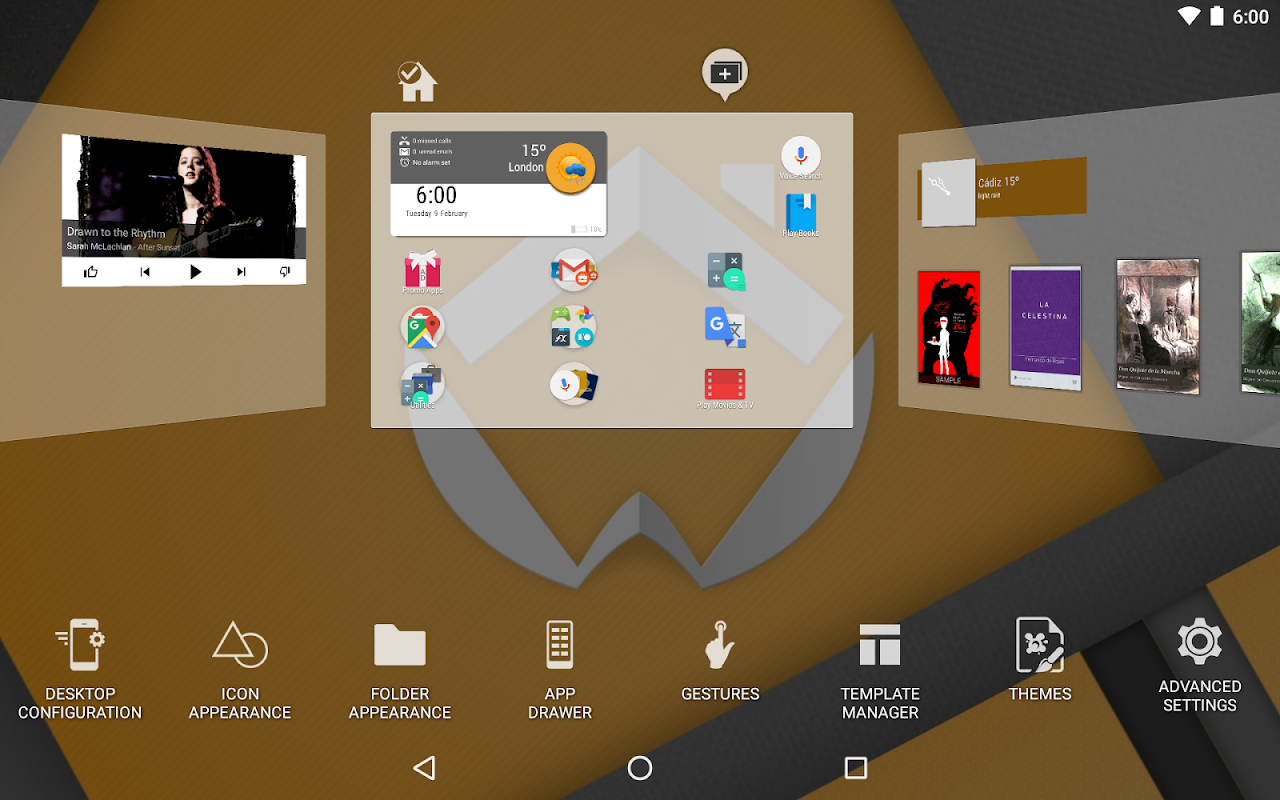 Android ADW Launcher 2 Screen 12