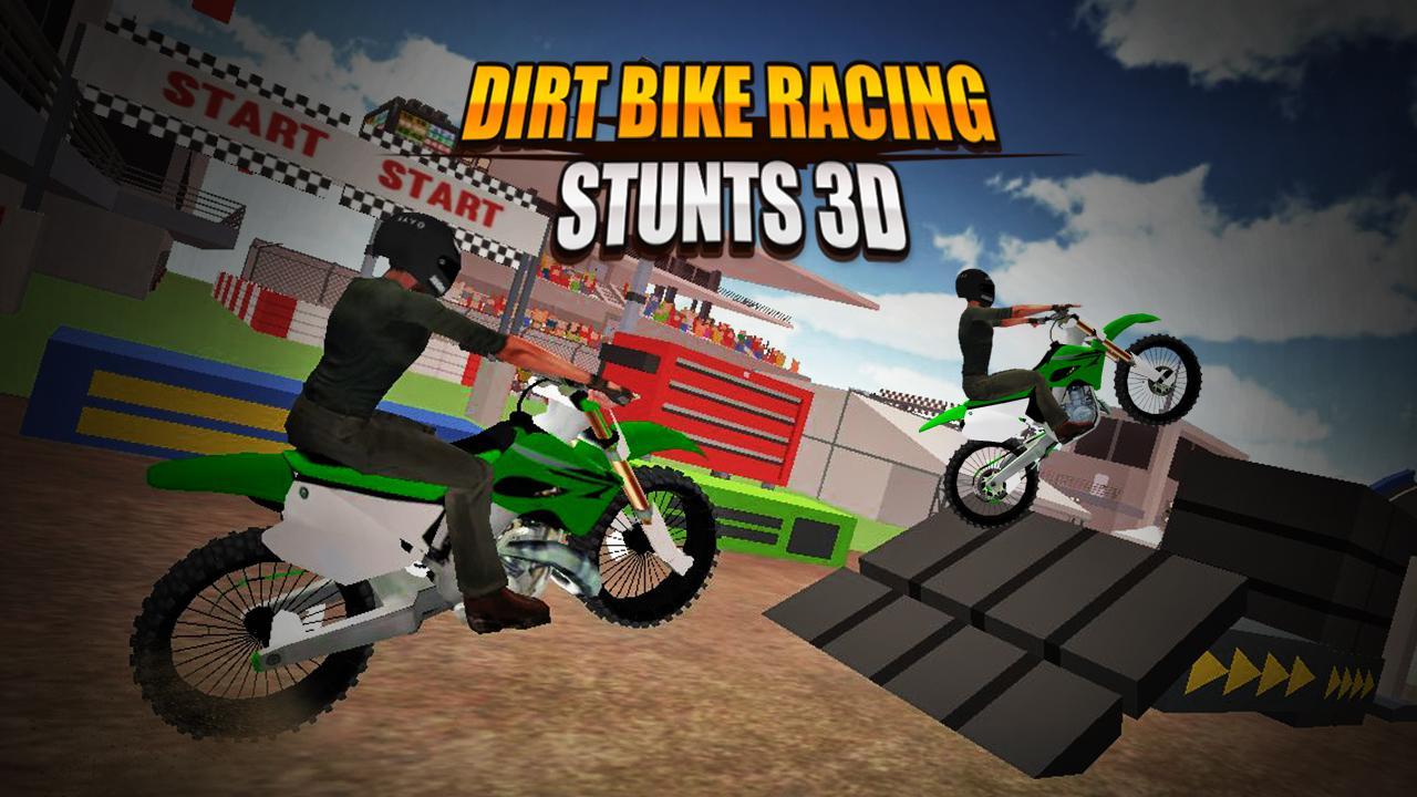 Dirt Bike Racing Stunts 3D 1.2 Screen 1