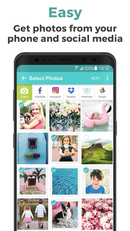 Android FreePrints - Free Photos Delivered Screen 1