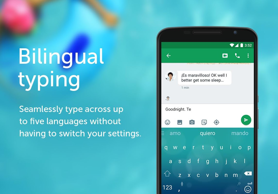 Android SwiftKey Keyboard Screen 3