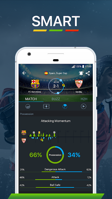 Android 365Scores - Live Score Screen 9