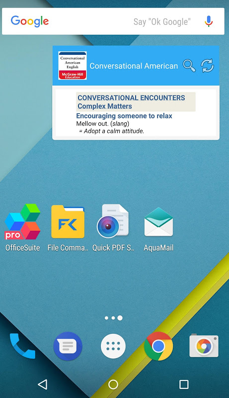 Android Conversational American Eng Screen 3