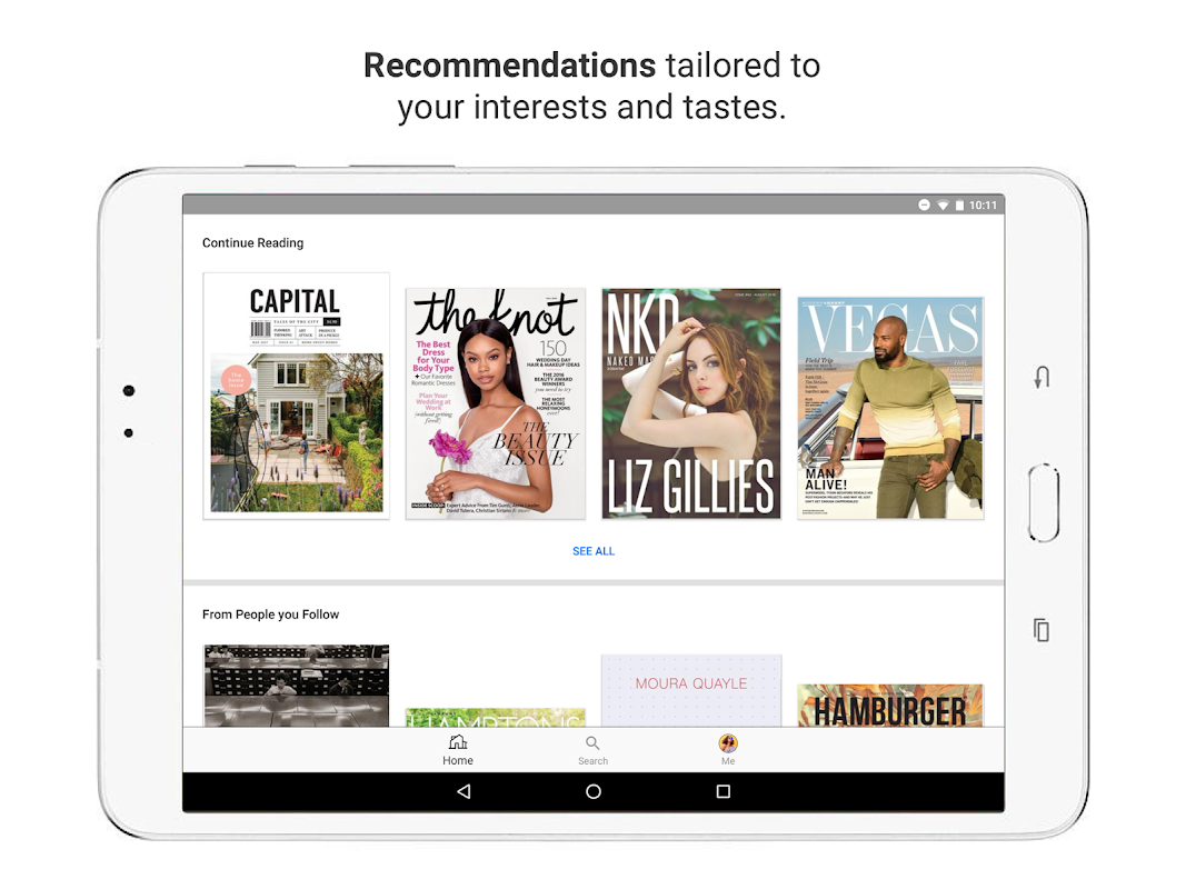 issuu - Read Magazines, Catalogs, Newspapers. 5.18.0 Screen 8