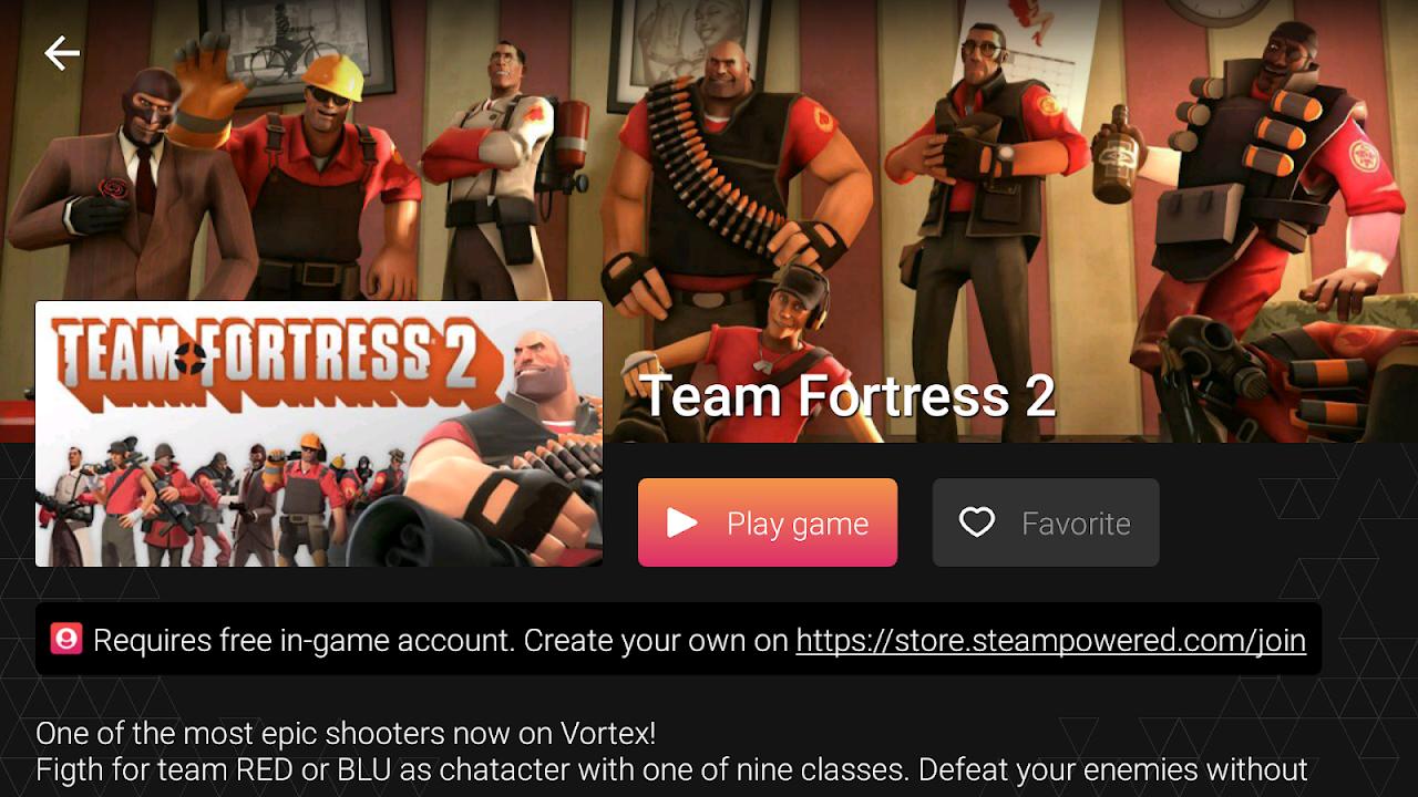 Vortex Cloud Gaming 1.0.226 Screen 5