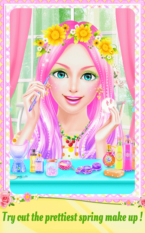 Android Spring Date Flower Spa & Salon Screen 12