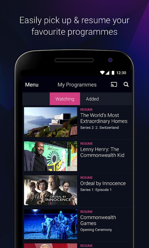 Android BBC iPlayer Screen 7