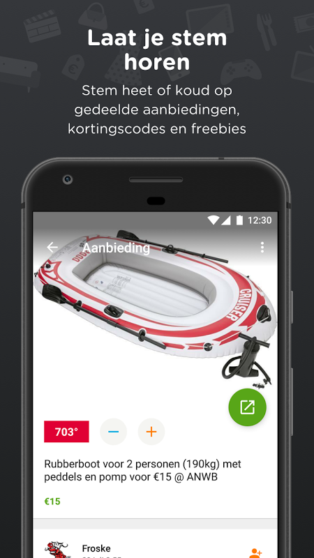 Pepper.com: De heetste deals 5.3.03 Screen 1