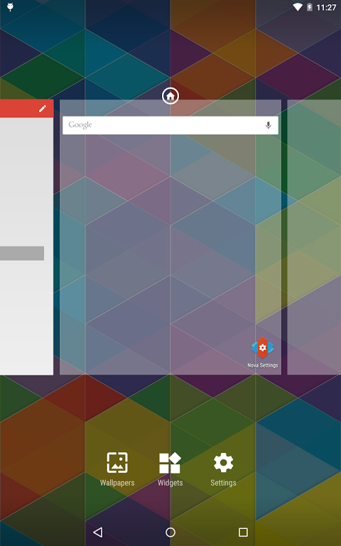 Nova Launcher 5.0.2-beta5 Screen 1