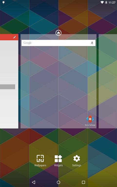 Nova Launcher 5.5-beta2 Screen 1