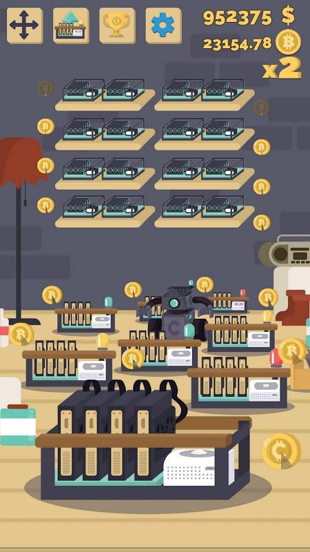 Bitcoin mining: life simulator, idle miner tycoon 0 11 0 APK