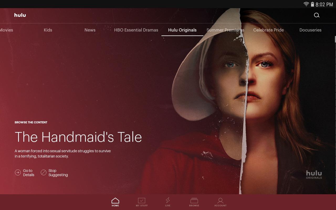 Hulu: Stream TV, Movies & more 3.51.2.307062 Screen 1