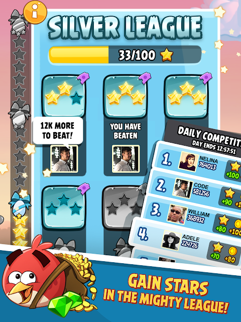 Android Angry Birds Screen 7