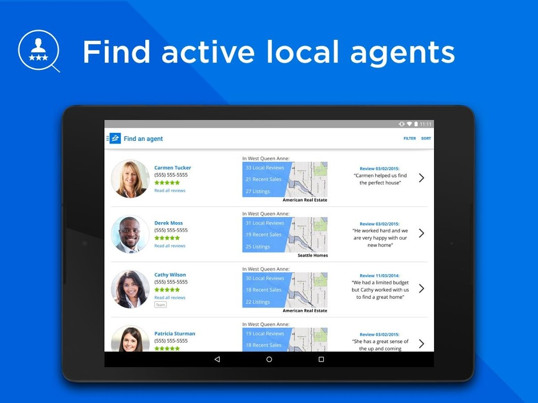 Android Zillow: Find Houses for Sale & Apartments for Rent Screen 3