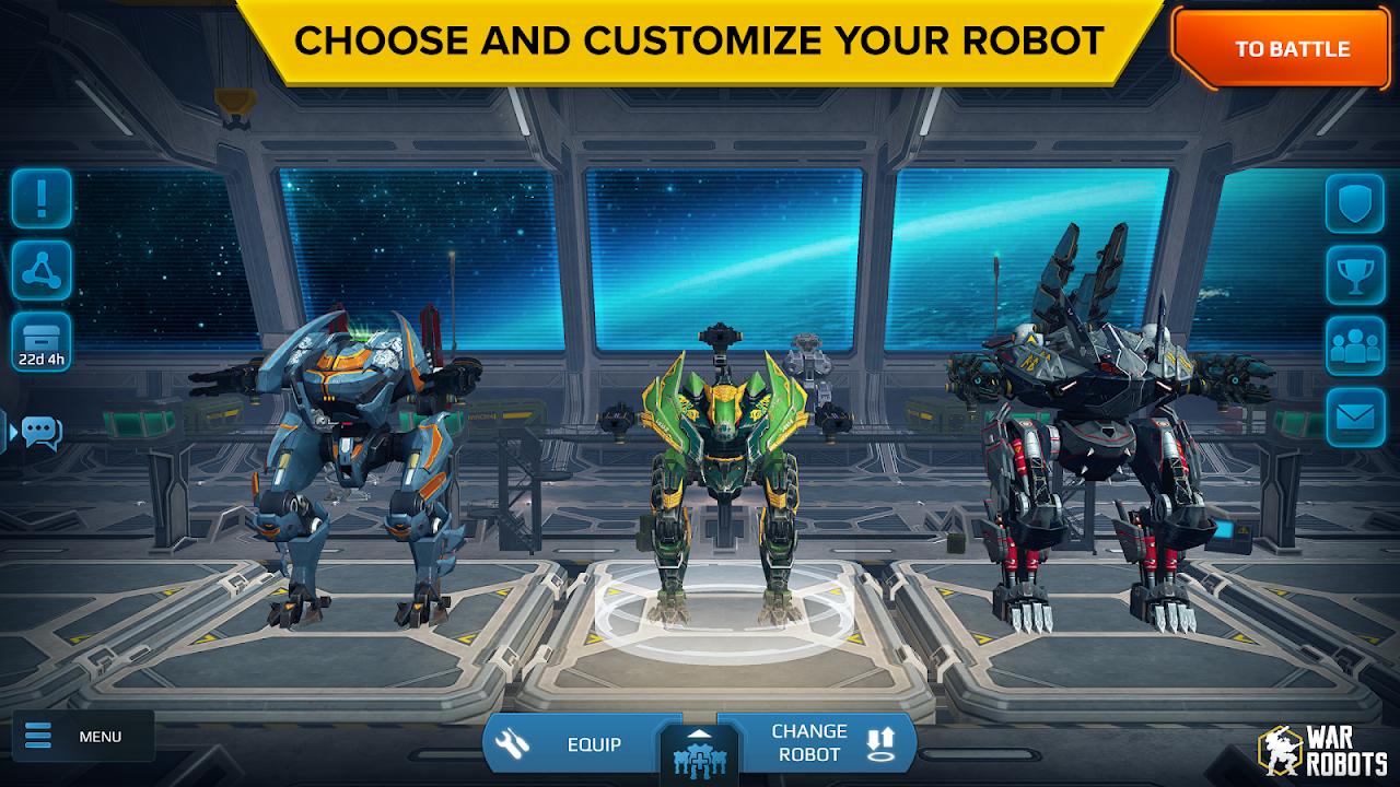 War Robots 5.4.0 Screen 3