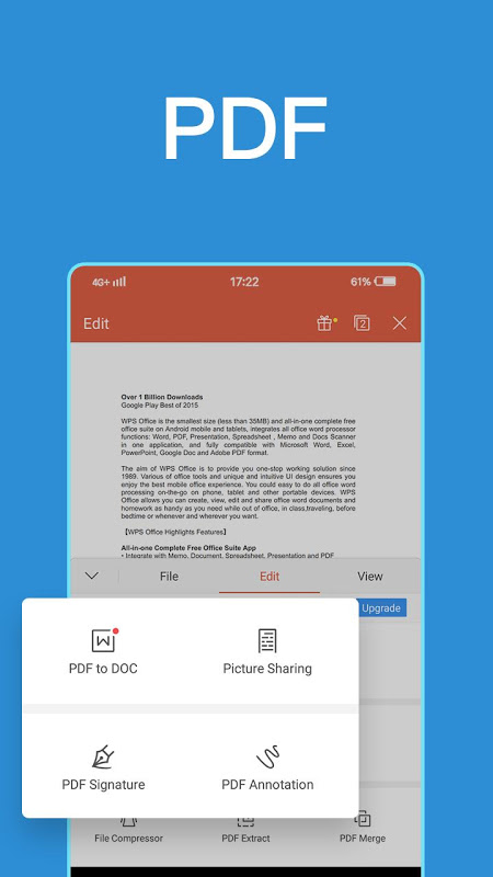 WPS Office + PDF 11.3.5 Screen 2